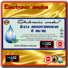 База никотиновая HiLiQ Premium 6 mg/ml(100-1000ml)