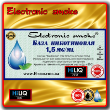 База никотиновая HiLiQ Premium 1.5 mg/ml (100-1000ml)
