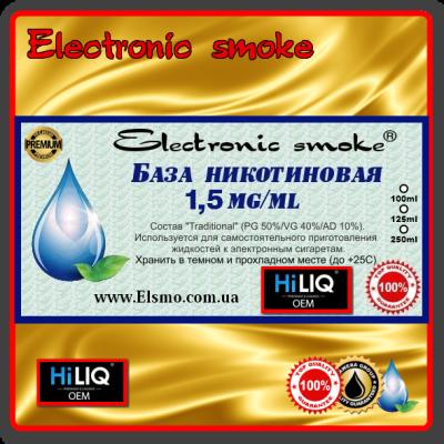 База никотиновая 1,5 mg/ml HiLiQ Premium